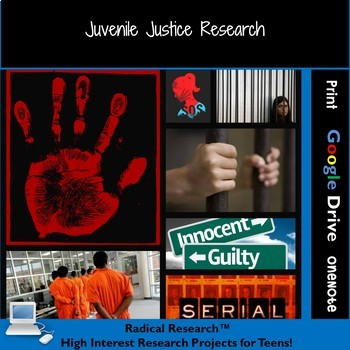 Juvenile Justice Research:  Teens Serving Time