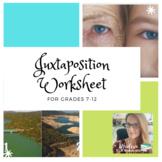 Juxtaposition Worksheet