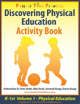 K-1 Discovering Physical Education Workbook