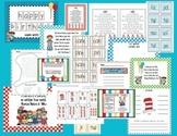 Read Across America K-1 Math Center Activities ONLY