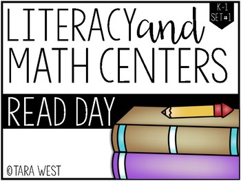K-1 Read Day Themed Centers *SPECIAL LIMITED BUY*