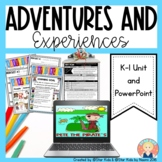 Marzano Lesson - Adventures and Experiences of Characters