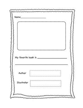 Book Reports (K-2)