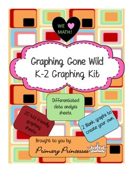 K-2 Common Core Independent/Group Graphing Kit