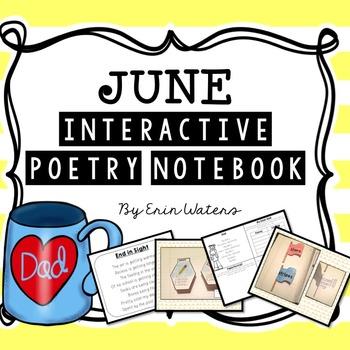 K-2 June Interactive Poetry Notebook {With Original Poems!}