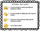 K-2 Math Log Rubrics in English and Spanish