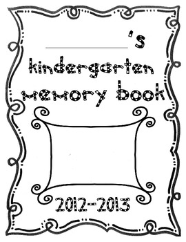 K-2 Memory Book