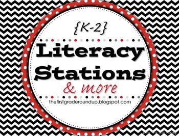Literacy Stations Posters & Printables