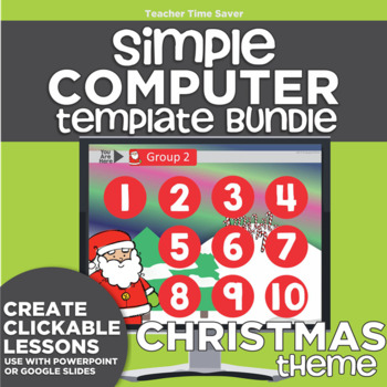 K-2 Technology Computer Lab Lesson Plans: Christmas Simple
