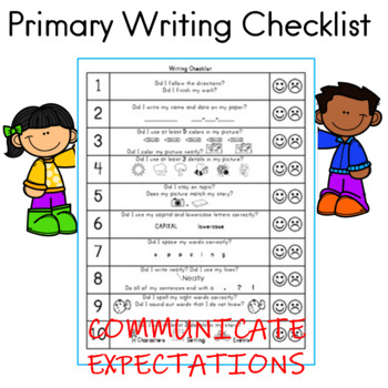 Writing Checklist for Students and Parents by Buzz Worthy ...