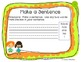 K-2nd Grade Writing Center Cards & Writing Prompts