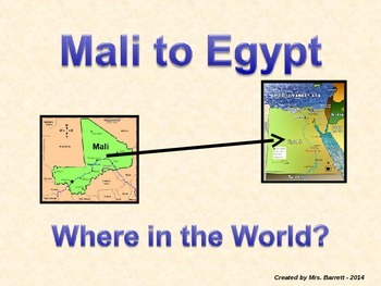Ancient Egypt and Ancient Mali Power Point