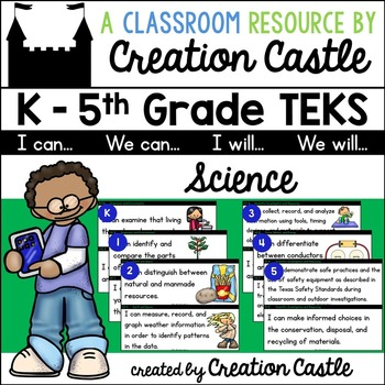 K-5 Science TEKS - Can and Will Standards Statements