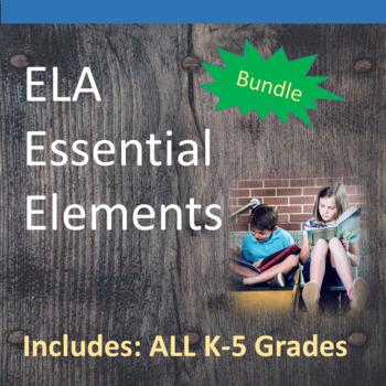 K-5th ELA Essential Elements for Cognitive Disabilities: D