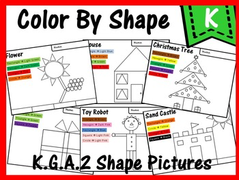 K.G.A.2 Color By Shapes