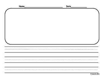 K Horizontal Writing Paper