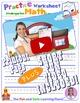 Math LESSON 4 ~ VIDEO & PRINTOUT ~ Let's Write to 20!