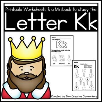 Letter K { Alphabet Practice }