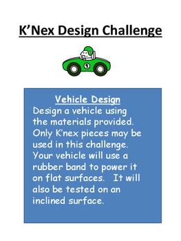 K'nex STEM Design Challenge