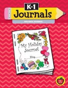 K–1 Journals: Holiday Journals
