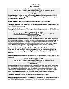 K4-2 Grade Band Reading Curriculum/Program (January)