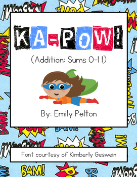 KA-POW! (Addition: Sums 0-11) [K-1]