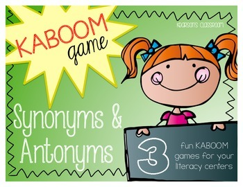KABOOM Game - Synonyms & Antonyms