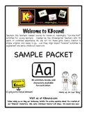 KBound Free Sample.  Funsical Activities for the Letter Aa