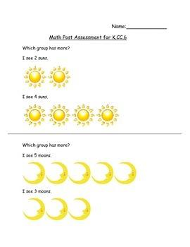 K.CC.6 Assessment
