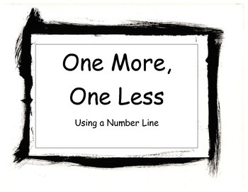 K.CC.B.4 One More Game using the Number Line