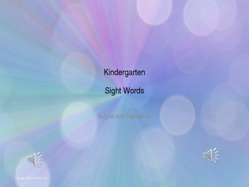 KDG Sight Words Practice Center ELL RTI GEI Intervention Ind Group Dolch by Counselor Bev