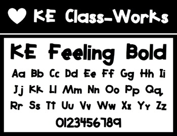 KE Fonts- Feeling Bold