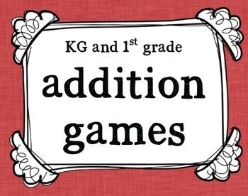 KG-1st Grade Addition Games