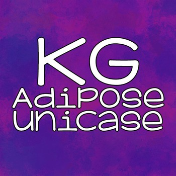 KG Adipose Unicase Font: Personal Use