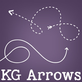 KG Arrows Font: Personal Use