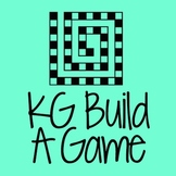 KG Build A Game Font: Personal Use