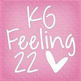 KG Feeling 22 Font: Personal Use