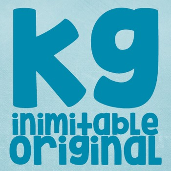 KG Inimitable Original Font: Personal Use