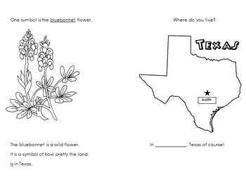 KG Intro to Texas activity booklet