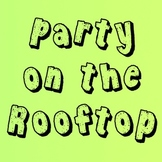 KG Party on the Rooftop Font: Personal Use