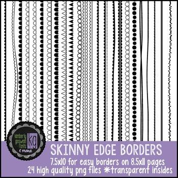 Borders: KG Skinny Edge Borders