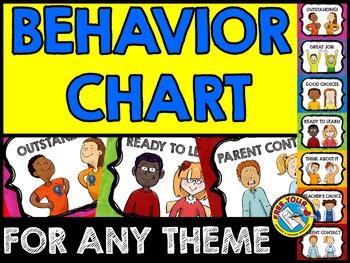 KIDS BEHAVIOR CHART: BACK TO SCHOOL PRINTABLES: KIDS BEHAV