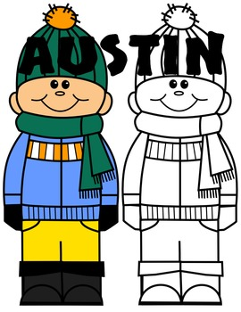 KIDS CLIP ART * AUSTIN