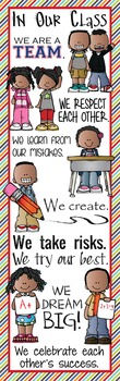 KIDS of COLOR - Classroom Decor: X-LARGE BANNER, In Our Class