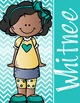 KIDS of COLOR - GIRLS - Student Binder Covers - {Melonheadz}