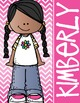 KIDS of COLOR - GIRLS - Student Binder Covers - {Melonheadz}
