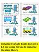 PLANE SHAPES BOOKS -Color, cut & paste 2D SHAPES books (KI