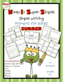 KISS Writing Prompts: Summer