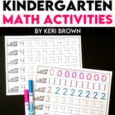 Kindergarten Math Intervention - August & September