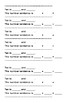 KOA3 - Decomposing Numbers Worksheets